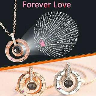 I Love You Constance Necklace