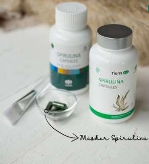 Masker Spirulina Original Tiens