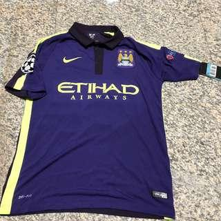 Manchester City 2014/15 Champions League Jersey