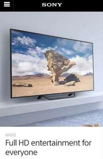 Sony KDL 55W650D LED Full HD Smart TV