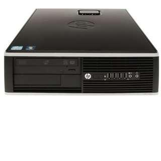 🚚 Refurbished HP 8100 SFF Desktop / Intel Core i7-1st Gen / 8GB RAM / 128GB SSD / Windows 7 / One Month Warranty