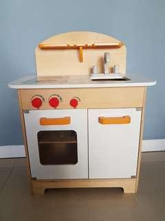 德國 HAPE 木製廚具/ 流理台