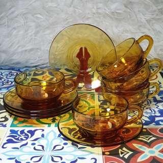 Vintage Adelex Tea Cups, Japan