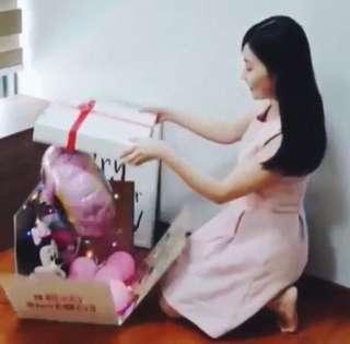 🚚 Happy Birthday VDay Flower Bouquet surprise