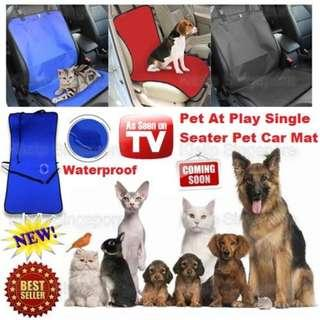 [Kipet]Pets-At-Play Pet Dog Car Rear Seat Protector Cover Mat/Blanket Carrier Hammock Cushion Protector/Backseat Car Truck Protective Mat/Sedan MPV SUV Stationwagon Pet Mat