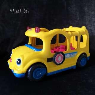 Fisher Price Little People Talking Planes and School Bus