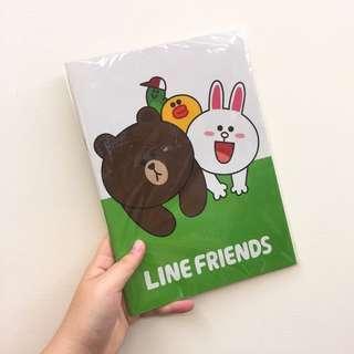 🚚 ✨全新✨LINE FRIENDS 16K 筆記本