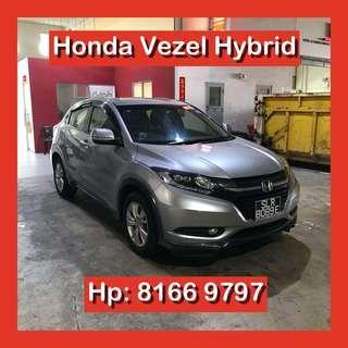 Honda Vezel Hybrid Grab Car Go Jek Rental