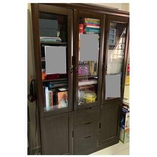 Furniture - Book Shelf - 3-Door Filing Cabinet