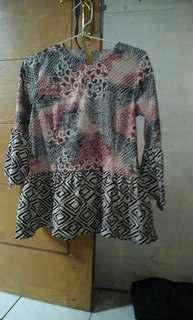 Batik Blouse kombinasi