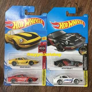 🚚 4x Hot Wheels NISSAN FAIRLADY Z