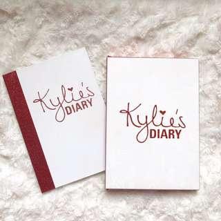 Kylie's diary eyeshadow palette