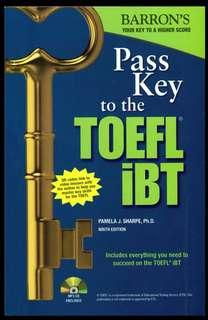 [DVD - Ebook] Barron's Pass Key To The TOEFL iBT 9th Edition