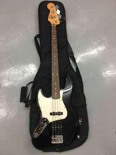 Fender jazz bass左手made in Mexico