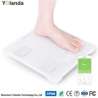 🚚 📣OFFER!! Smart Bluetooth Digital Body Weight Fat Analysis Personal Weighing Scales