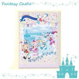 🚚 日本迪士尼樂園 海洋 35週年 超可愛摺疊鏡 達菲 雪莉玫 傑拉托尼 史黛拉