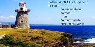 Batanes all inclusive tour From manila