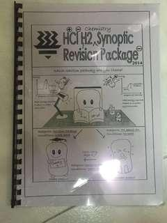 Hwa Chong Institution H2 Chemistry Revision Package