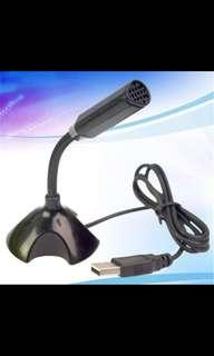 USB Microphone With Stand! PC, Windows and Mac!