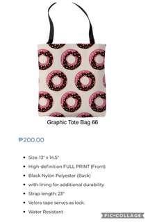 Graphic Tote Bag