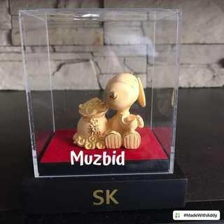 24K Gold Snoopy Figurine