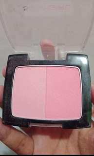 silky girl blush on shade pink