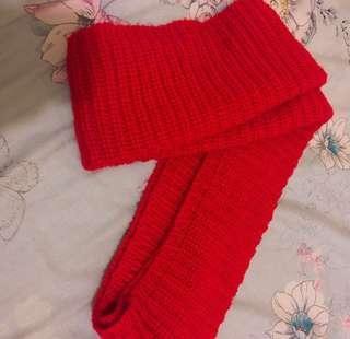 🚚 大紅色圍巾🧣圍脖