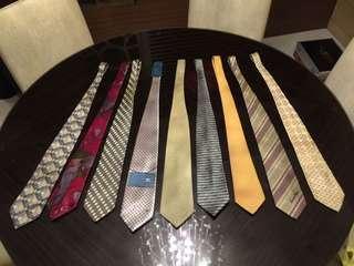 🚚 專櫃品牌領帶 多條折扣 近全新