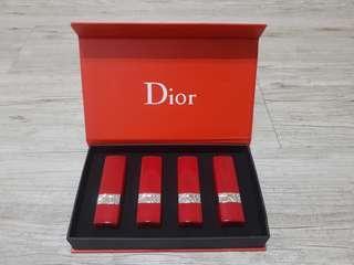 🚚 迪奧Dior 限定版紅管 口紅禮盒