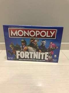 Free Delivery Brand New Monopoly Fortnite Edition Board Game Inspired by Fortnite Video Game