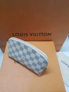 Damier Azure Cosmetic Pouch