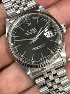 Rolex Datejust Ref 16234 Complete with Box & Booklet, No Paper.