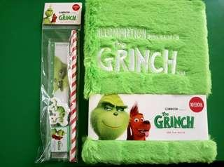 The Grinch Movie Notebook and Stationery