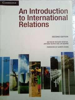 2nd edition, an introduction to international relations