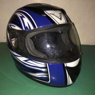 Voltz VF-007-BLUE ASTEROID Large size Full Mask Motorcycle Helmet