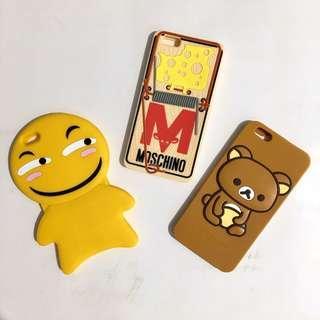 BRAND NEW 6plus 6splus yellow smiley iphone case