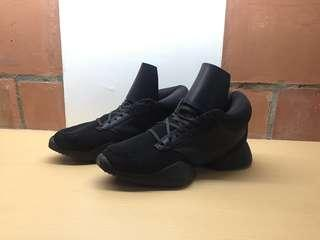 Rick Owens x Adidas Triple Black Shoes