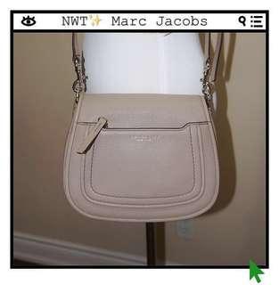 *NWT✨* Marc Jacobs Empire City Mini Messenger Crossbody Bag in Mink