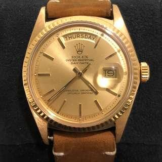 Rolex Day Date Yellow Gold 1803