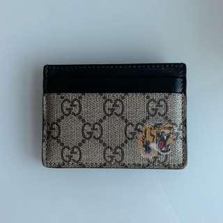 36120136ecd GUCCI Men s GG Supreme Snake Symbol Long Wallet 459456 K521N 8666 ...