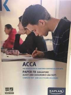 ACCA F8 Audit & Assurance