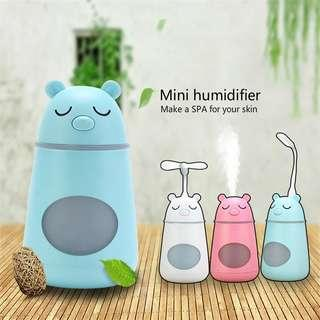 Multifunctional Innovative Mini USB Air Humidifier Home Desktop Portable Air Purifier-intl