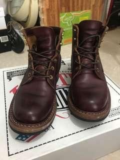 White's boots semi-dress Horween Burgundy Chromexcel