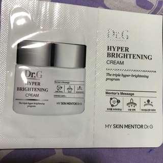 Dr.G hyper brightening cream