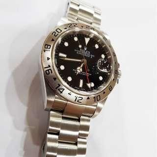 Rolex Explorer II 16570 with 3186 movement year 2009 Full set