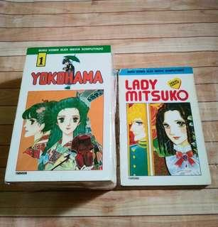 Komik yokohama 1-8 tamat + lady mitsuko kolpri mulus
