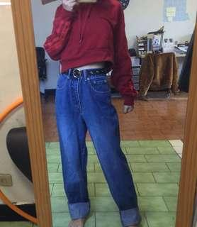 🚚 重磅高腰牛仔直筒褲 #衣櫃大掃除