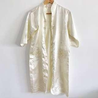 Chinese Style Silk Cover Up (Nightwear)