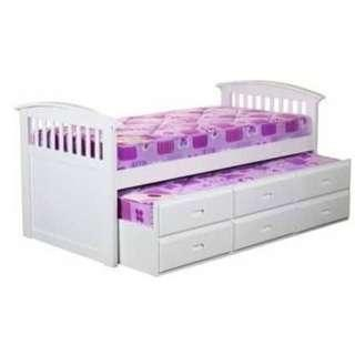 Melody pull out bed and drawers