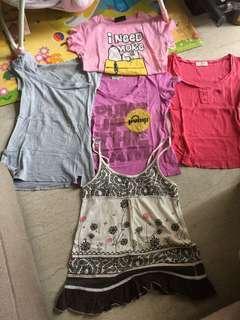 🚚 Bundle of preloved T-shirts